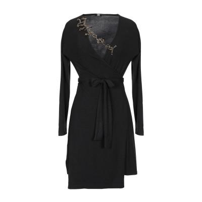 2B ミニワンピース&ドレス ブラック XS レーヨン 46% / PES - ポリエーテルサルフォン 46% / ポリウレタン® 8% ミニワンピ