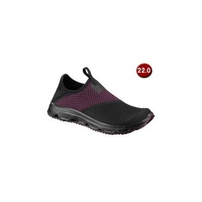 SALOMON/サロモン  RX MOC 4.0 W 22.0cm (Black/Black/Potent Purple) L40674100