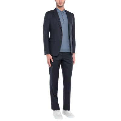 エンポリオ アルマーニ EMPORIO ARMANI スーツ ダークブルー 50 バージンウール 100% スーツ