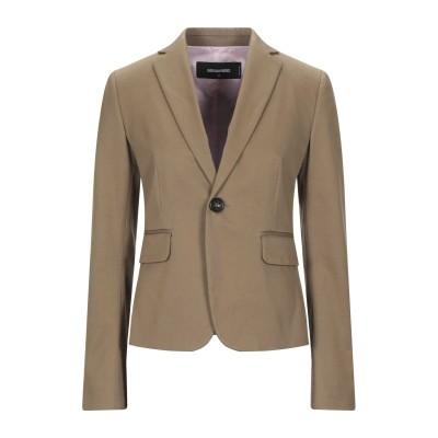 ディースクエアード DSQUARED2 テーラードジャケット キャメル 38 コットン 97% / ポリウレタン 3% テーラードジャケット
