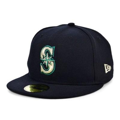 ニューエラ 帽子 アクセサリー メンズ Men's Seattle Mariners 2020 Jackie Robinson 59FIFTY Cap Navy
