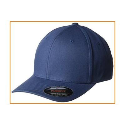 プレミアム元Flexfit v-flexfit Cotton Twill Fitted Hat 5001ネイビー カラー: ブルー_並行輸入品