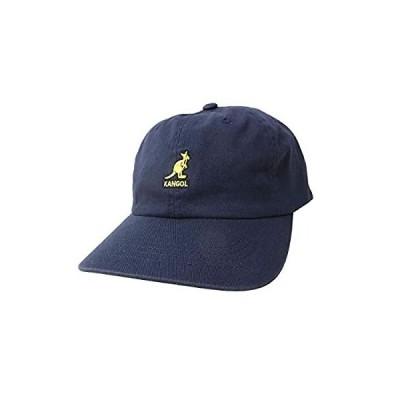 [カンゴール] キャップ 帽子 KANGOL ウォッシュドベースボール ネイビー 100169220