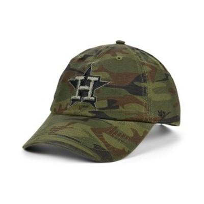 47ブランド メンズ 帽子 アクセサリー Houston Astros Regiment CLEAN UP Cap Gray