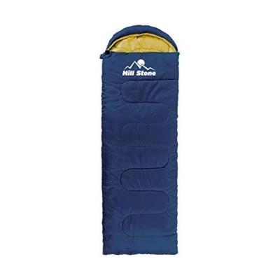 zmayastar 寝袋 シュラフ 封筒型 キャンプ寝袋 1.95kg コンパクト収納 スリーピングバッグ 連結可能 耐寒温度-5度 撥