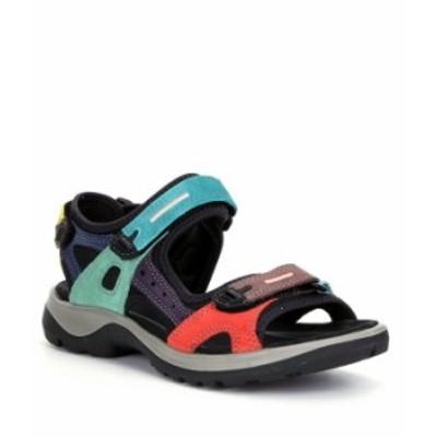 エコー レディース サンダル シューズ 10 Year Anniversary Edition Yucatan Sandals Multicolor