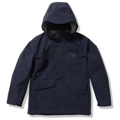 ジャケット(レディース) ヘリーハンセン 21秋冬 Women's Flam Rain Jacket(フロム レイン ジャケット)ウィメンズ WL ディープネイビー(DN)