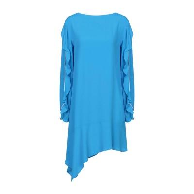 8PM ミニワンピース&ドレス ターコイズブルー XXS アセテート 69% / シルク 31% / ポリエステル ミニワンピース&ドレス