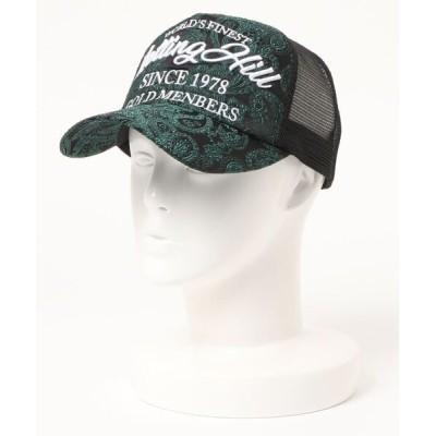 STYLEBLOCK / ペイズリーJQD刺繍キャップ MEN 帽子 > キャップ