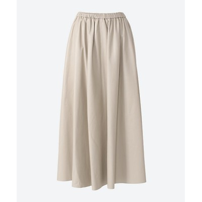 <ebure(women)/エブール> ライトレザー スカート ivory【三越伊勢丹/公式】