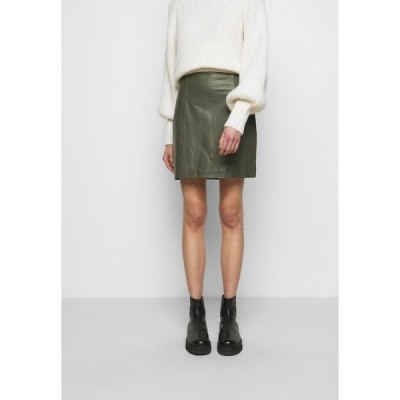 セカンド デイ スカート レディース ボトムス ELECTRA - Mini skirt - castor