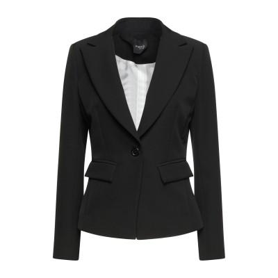 MEM.JS テーラードジャケット ブラック 46 ポリエステル 88% / ポリウレタン 12% テーラードジャケット