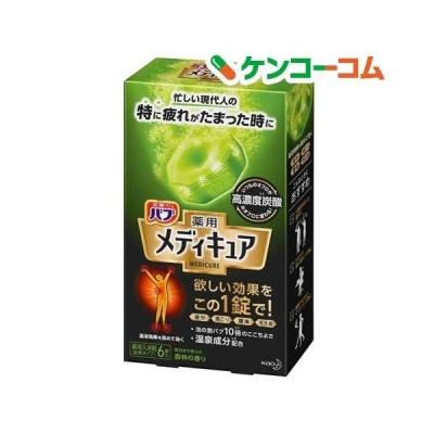 バブ 薬用 メディキュア 森林の香り ( 70g*6錠 )/ バブ ( 入浴剤 )