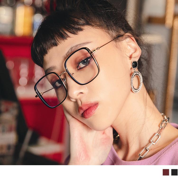 文青復古金屬方框眼鏡