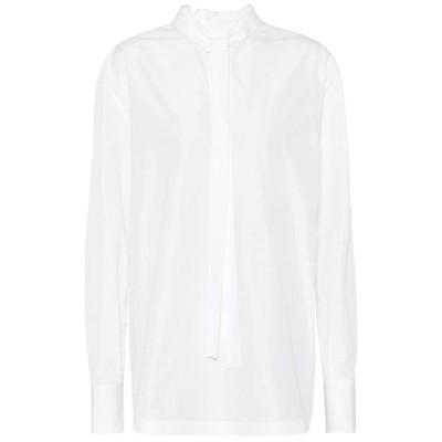 ヴァレンチノガラヴァーニ Valentino / Garavani レディース ブラウス・シャツ トップス cotton-blend blouse