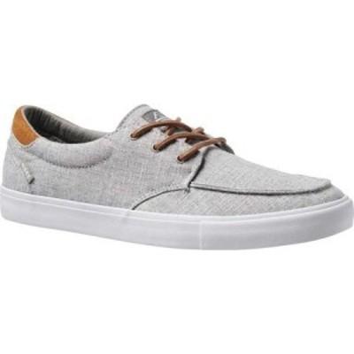 リーフ Reef メンズ スニーカー シューズ・靴 Deckhand 3 TX Sneaker Grey/Chambray Premium Fabric