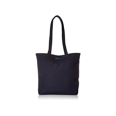 Vera Bradley Women's Microfiber Tote Bag Totes, Classic Navy, One Size