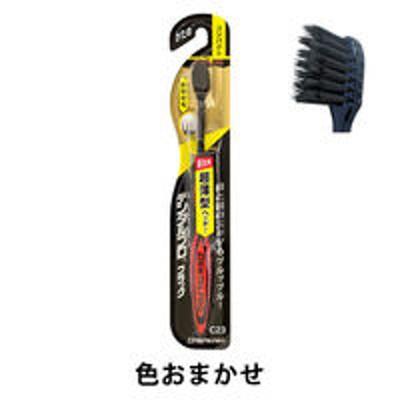 デンタルプロDENTALPRO(デンタルプロ) ブラック 超極細毛コンパクト かため デンタルプロ 歯ブラシ