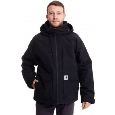 カーハート Carhartt WIP メンズ ジャケット アウター - Bode Black - Jacket black