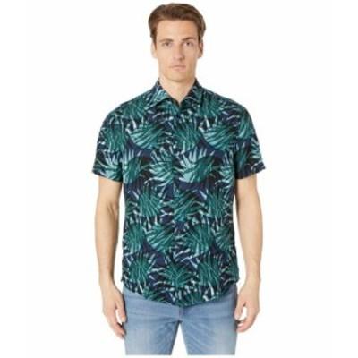 BOSS Hugo Boss ヒューゴボス 服 一般 Short Sleeve Garden Print Woven Shirt