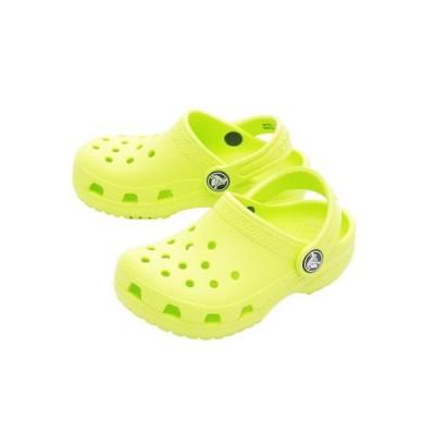 クロックス(crocs) サンダル ジュニア クラシック クロッグ Citrus #204536-738 【オンライン価格】 (キッズ)