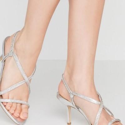 デューンロンドン レディース サンダル MOTO - Sandals - silver