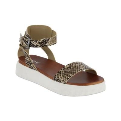 ミア サンダル シューズ レディース Women's Ellen-S Sneaker Bottom Sandals Beige