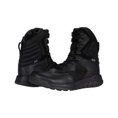 "Danner ダナー メンズ 男性用 シューズ 靴 ブーツ ワークブーツ Instinct Tactical Side-Zip 8"" Danner Dry - Black"