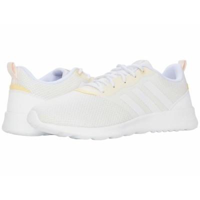 アディダス スニーカー シューズ レディース QT Racer 2.0 Footwear White/Footwear White/Chalk White