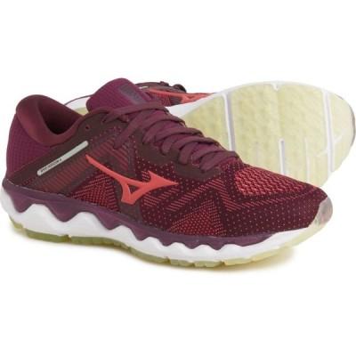 ミズノ Mizuno レディース ランニング・ウォーキング シューズ・靴 Wave Horizon 4 Running Shoes Mauve Wine Cayenne