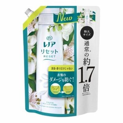 レノア リセット 柔軟剤 ヤマユリ&グリーンブーケの香り 詰替 特大 795ml