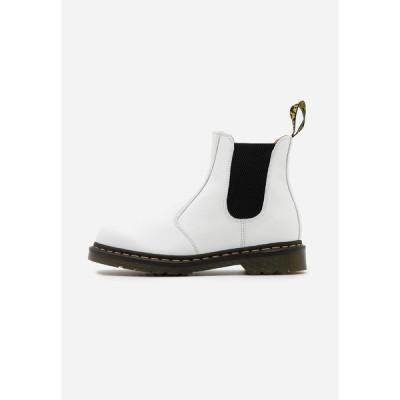 ドクターマーチン ブーツ&レインブーツ メンズ シューズ 2976 YS - Classic ankle boots - white smooth