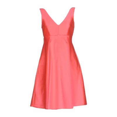パロッシュ P.A.R.O.S.H. ミニワンピース&ドレス コーラル M 93% ポリエステル 7% シルク ミニワンピース&ドレス