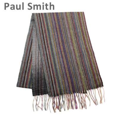 ポールスミス スカーフ M1A 837D AS09 92 MULTI CASHMERE メンズ Paul Smith ストール マフラー カシミヤ