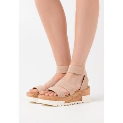 ニュールック サンダル レディース シューズ PORTSEA - Platform sandals - oatmeal