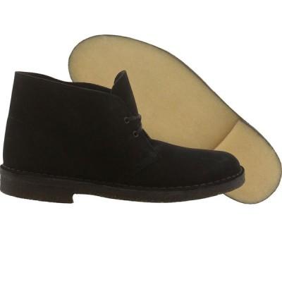 アスレチックシューズクラークスClarks Originals メンズ Desert ブーツ (ブラック / スエード) 31691