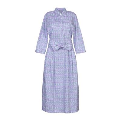 カリバン CALIBAN 7分丈ワンピース・ドレス ライラック 40 コットン 97% / ポリウレタン 3% 7分丈ワンピース・ドレス