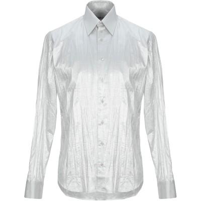 COSSMO シャツ ライトグレー 39 コットン 82% / PES - ポリエーテルサルフォン 18% シャツ