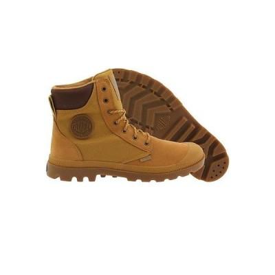 アスレチック パラディウム ブーツ Palladium ブーツ メンズ Pampa スポーツ Cuff ブラウン amber ゴールド 73234-228