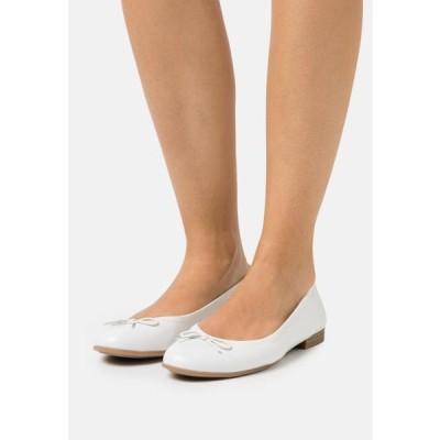タマリス レディース 靴 シューズ Ballet pumps - white
