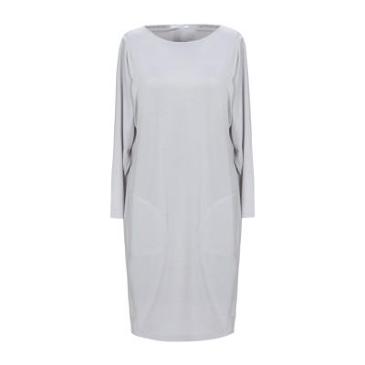 BIANCOGHIACCIO ミニワンピース&ドレス ライトグレー S アセテート 95% / ポリウレタン 5% ミニワンピース&ドレス