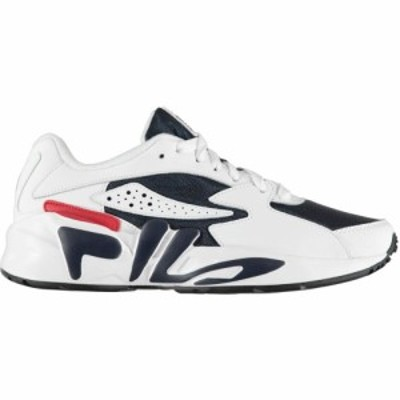 フィラ Fila メンズ スニーカー シューズ・靴 mindblower trainers Navy/White/Red