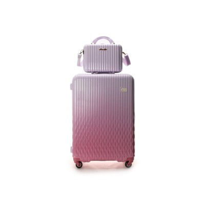 【アンドシュエット】 スーツケース≪Lunalux≫ 大 レディース ベビーピンク FREE & chouette