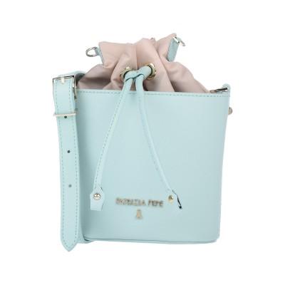パトリツィア ペペ PATRIZIA PEPE メッセンジャーバッグ ライトグリーン ナイロン 100% / 牛革(カーフ) メッセンジャーバッグ
