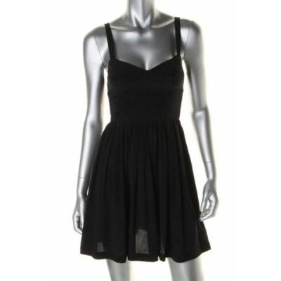 ドレス 女性  海外セレクション Amanda Uprichard 1265 レディース シルク Smocked Above Knee カジュアル ドレス