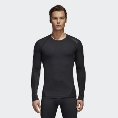 メール便OK adidas(アディダス) EBR74 メンズ ALPHASKIN TEAM ロングスリーブTシャツ アルファスキン