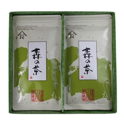 日本茶セット 森の茶印 平袋2本入 KM15003000  食品詰め合わせ お中元 御中元 お歳暮 御歳暮 お年賀 内祝い