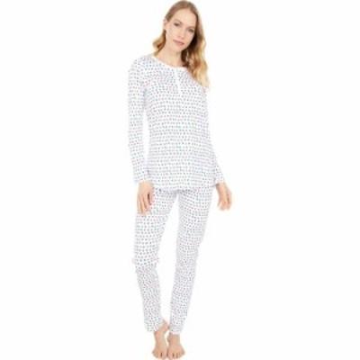 ローラー ラビット Roller Rabbit レディース パジャマ・上下セット インナー・下着 Starry Night Pajamas White