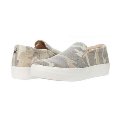 Steve Madden スティーブマデン レディース 女性用 シューズ 靴 スニーカー 運動靴 Gills-C Sneaker - Tan Camo