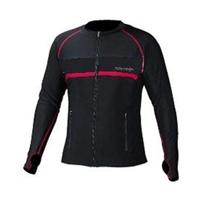 コミネ KOMINE バイク プロテクティブジップインナー ジャケット アウター 速乾 冷感 通気性 ブラック/レッド XL 07-075